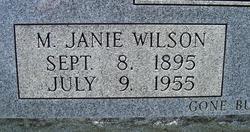 M. Janie <i>Wilson</i> Brown