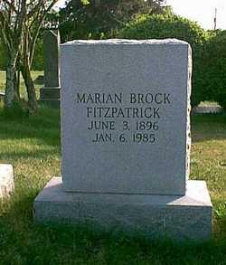 Marian <i>Brock</i> Fitzpatrick
