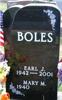 Earl J Boles