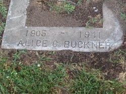 Alice C Buckner