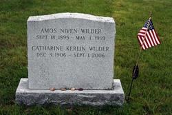Rev Amos Niven Wilder