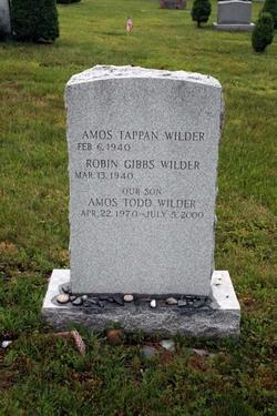 Amos Todd Wilder