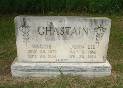 Maggie <i>Brown</i> Chastain