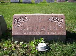 Mary <i>McDonald</i> Gritmon (Gritman)