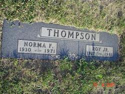 Norma F. <i>James</i> Thompson