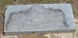 Willie F Bartodej