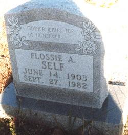 Flossie <i>Watson</i> Self