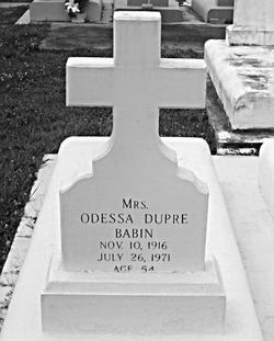 Odessa <i>Dupre</i> Babin