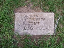 Cornelia Antoinette Ridout