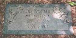 Ida M. <i>Albrecht</i> Stauber Haglage