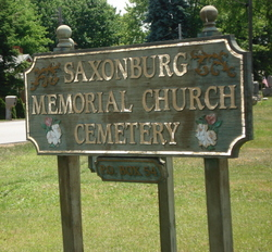 Saxonburg Memorial Church Cemetery