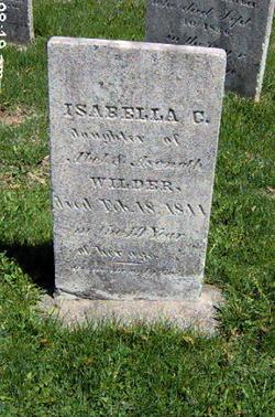 Isabella C. Wilder