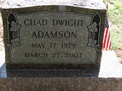 Chad Dwight Adamson