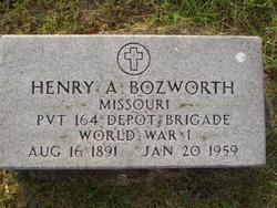 Henry Alfred Bozworth