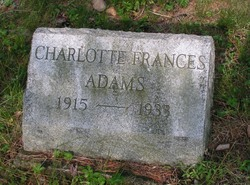 Charlotte Frances Adams