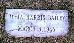Julia <i>Harris</i> Bailey