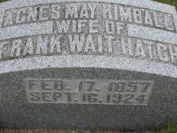 Agnes May <i>Kimball</i> Hatch
