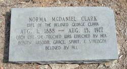 Norma <i>McDaniel</i> Clark