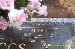Alice Mae <i>Rudder</i> Boggs
