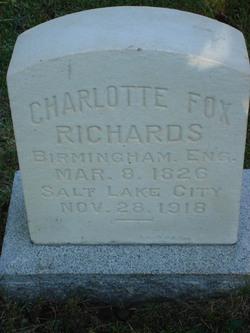 Charlotte <i>Fox</i> Richards