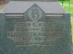 Elizabeth <i>Rolandt</i> Bane