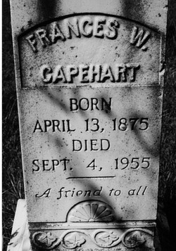 Frances Whitmel <i>Smallwood</i> Capehart