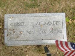 Russell P. Alexander