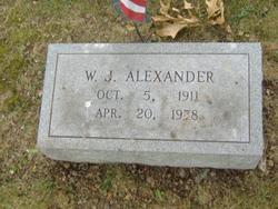 W.J. Alexander