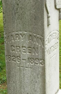 Mary Ann Green