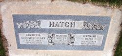Henrietta Augustine <i>Clark</i> Hatch
