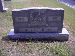Alice T Bean