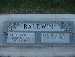 Beth Louise <i>Hollingsworth</i> Baldwin