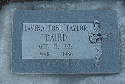 LaVina Toni <i>Taylor</i> Baird