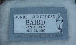 Junior Dean June Baird