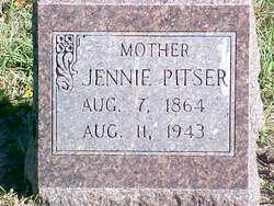 Elizabeth Jane Jennie <i>Stone</i> Pitser