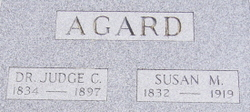 Dr Judge C. Agard