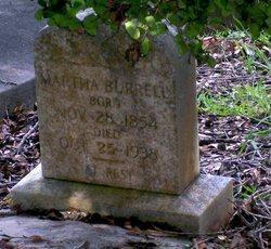 Martha <i>Harrington</i> Burrell