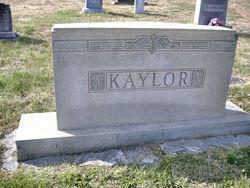 Florence Rebecca <i>Swanson</i> Kaylor
