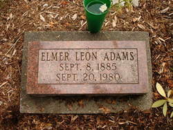 Elmer Leon Adams