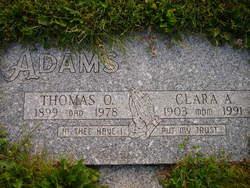 Clara A Adams