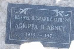 Agrippa D Abney