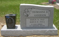 Thomasina <i>Daniels</i> Anderson