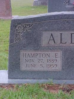 Hampton Eugene Aldy