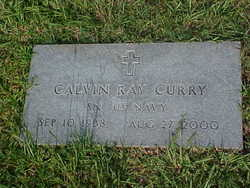 Calvin Ray Curry