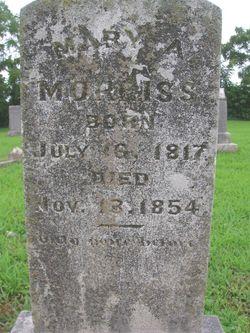 Mary Ann <i>Button</i> Morriss