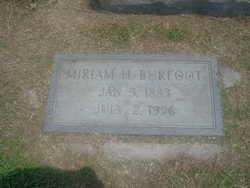 Miriam H Burfoot