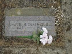 Hattie M. <i>Jarvis</i> Cartwright
