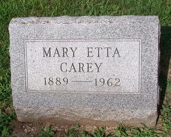 Mary Etta Carey