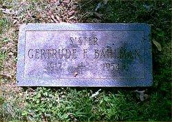 Gertrude Frances <i>Matthews</i> Bahlman