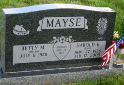 Betty M. <i>Paulen</i> Mayse